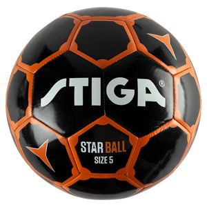 Image of STIGA Fotboll i officiell storlek., Svart/Orange One Size (1384793)