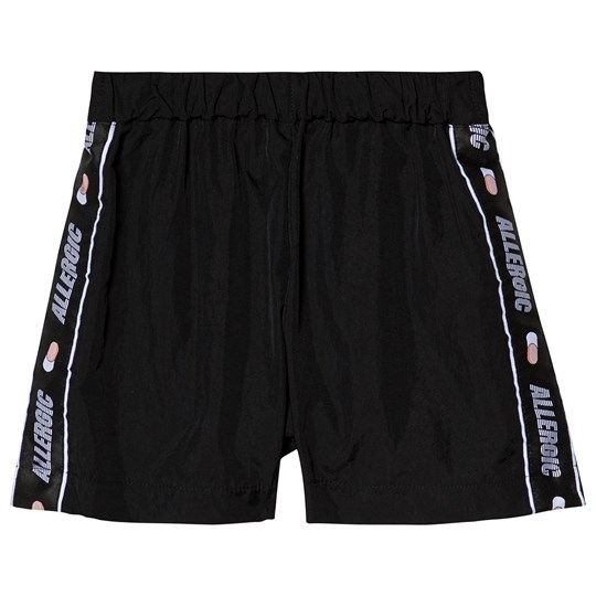 Caroline Bosmans Allergic Ribbon Shorts Nylon Black NYLON BLACK