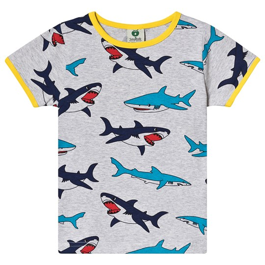 Småfolk Shark Tee Grey 236