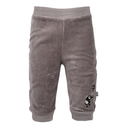 Me Too Dodo Baby Velour Pant Cloud  Black