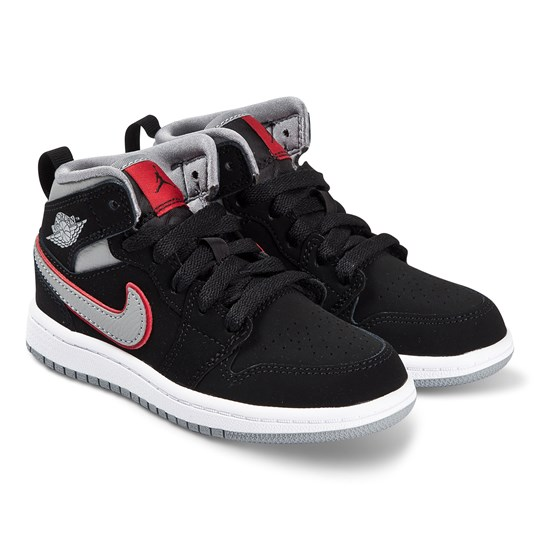 Air Jordan Black Air Jordan 1 Mid Trainers 060