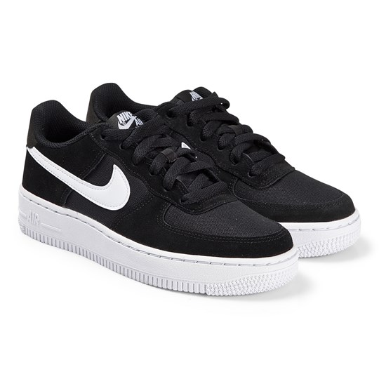 NIKE Black Nike Air Force 1 Trainers 001
