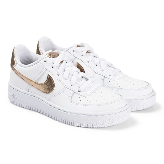 Air Force Sneakers Vit och Blå NIKE Babyshop