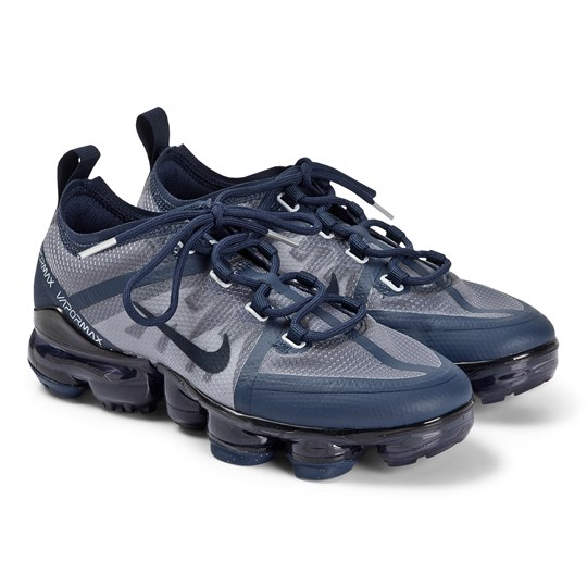 NIKE Navy Nike Air VaporMax Trainers 403