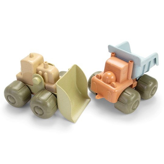 Dantoy Bio Bulldozer and Truck in Giftbox