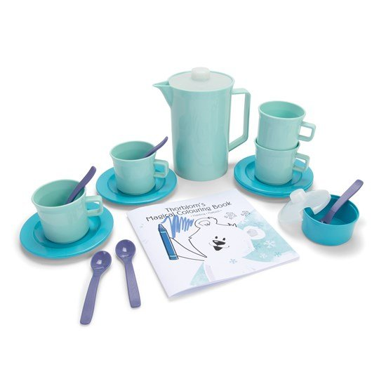 Dantoy Thorbjorn Coffee Set with Coloring Book