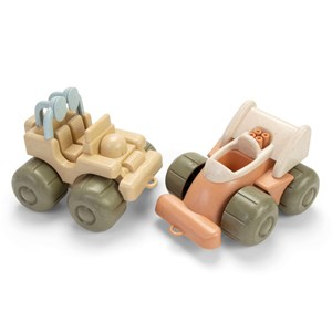 Image of Dantoy BIOplastic Toy Vehicles Jeep and Formula 1 Car 24+ months (1384794)