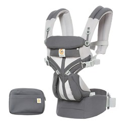Ergobaby Omni 360 Cool Air Baby Carrier Carbon Grey
