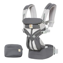 116cbe7fc36 Ergobaby Omni 360 Cool Air Baby Carrier Carbon Grey Carbon Grey