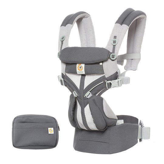 Ergobaby Omni 360 Cool Air Baby Carrier Carbon Grey Carbon Grey