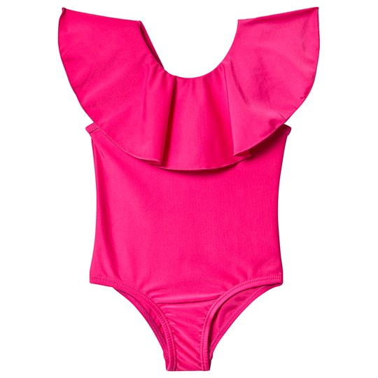 The BRAND Flounce Swimsuit  Pink
