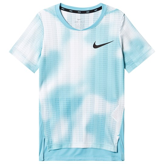 NIKE Blue Instacool Dri-Fit Branded Tee 497