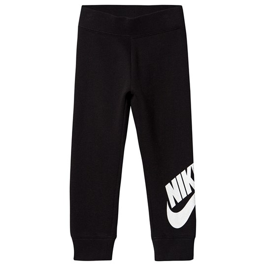 NIKE Black with Pink Branding Sweatpants 023