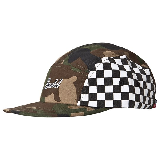 Herschel Glendale Youth Keps Camo Checkerboard Woodland Camo Checkerboard