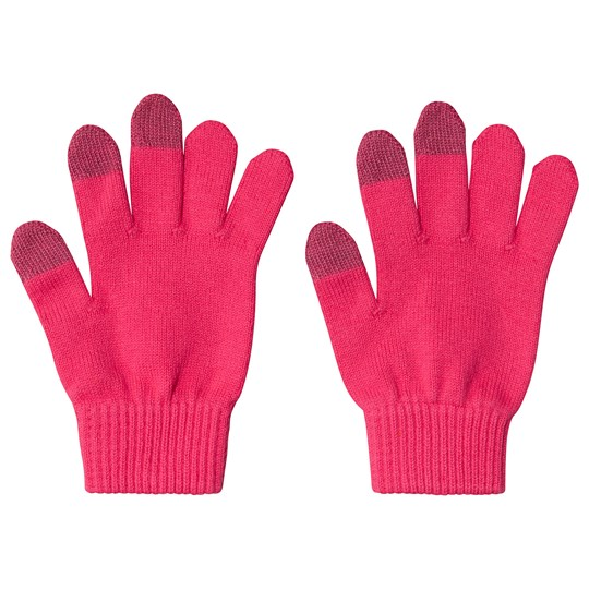 Reima Gloves (knitted), Ahven Candy pink Candy Pink