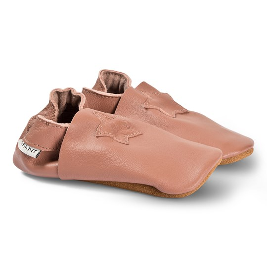 EnFant Star Elastic Slippers Old Rose Old Rose