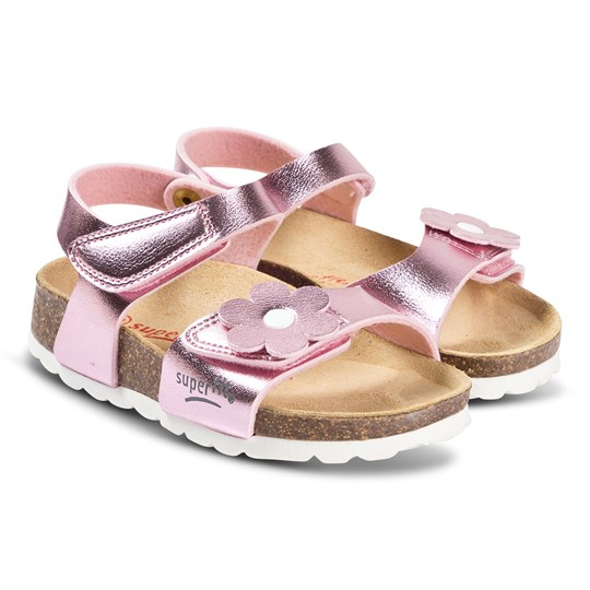 Superfit Slip-On Sandals Pink Pink