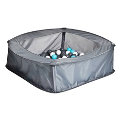 iPLAY Pool with Play balls 100 pcs Grey