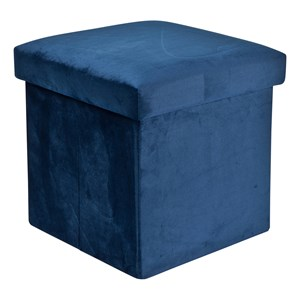 Image of JOX Foldable Storage in Velvet Blue One Size (1389469)