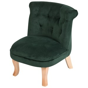 Image of JOX Armchair Emma Velvet Green One Size (1390611)