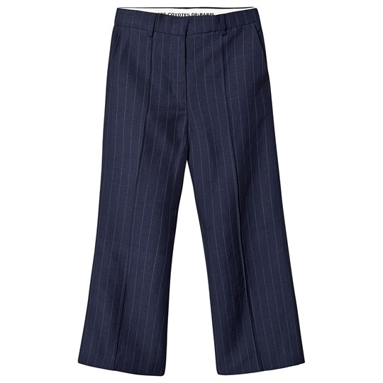 Les Coyotes De Paris Rikki Pants Navy Navy With Pinstripe