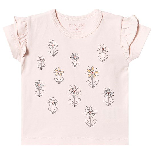 Fixoni Flower T-Shirt Soft Rose Soft Rose
