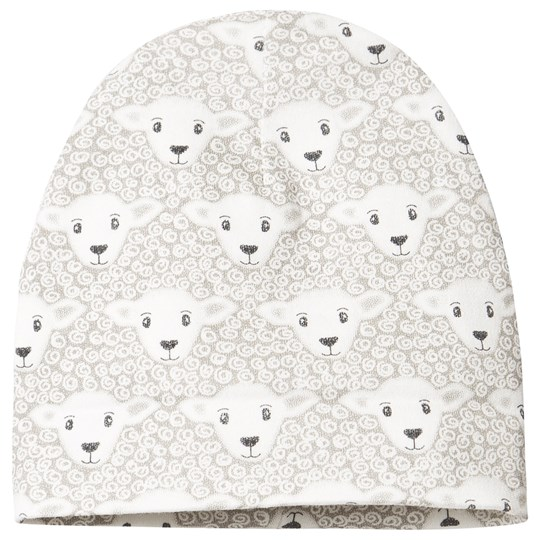 Fixoni Lamb Beanie Off White 白色