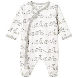 Fixoni Lamb Footed Baby Body Off White