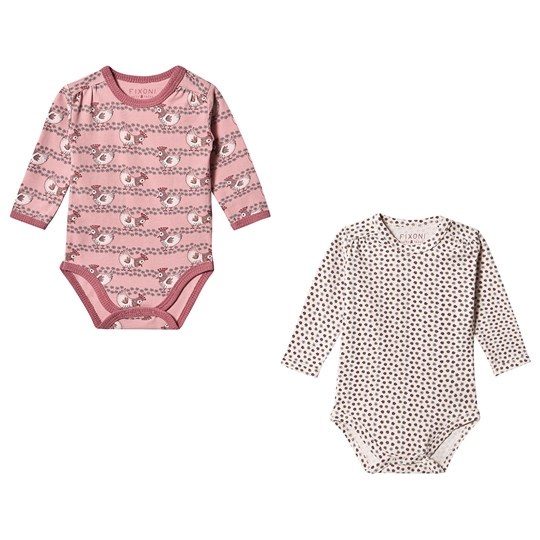 Fixoni 2-Pack Chicken Baby Body Zephyr Pink Soft Rose