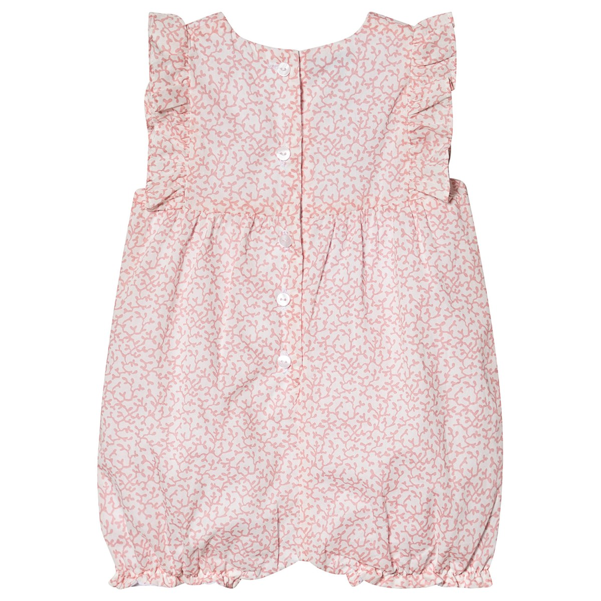 32d3c27ec Absorba - Pink and White Floral Liberty Print Frill Sleeve Bubble -  Babyshop.com
