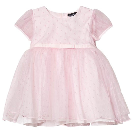 Jocko Party Dress Pink Dots Pink