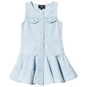 Bilde av Bardot Junior Denim Button Up Sleeveless Dress With Pocket Detail 16 Years