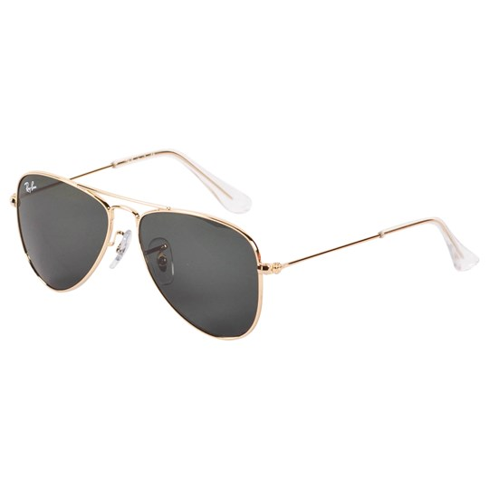 Ray-ban Gold Metal Rimmed Sunglasses 223/71