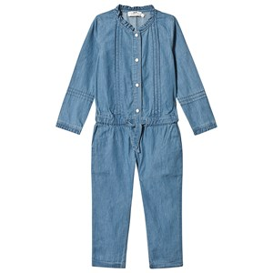 Image of Cyrillus Chambray Jumpsuit Blå 4 years (1349239)