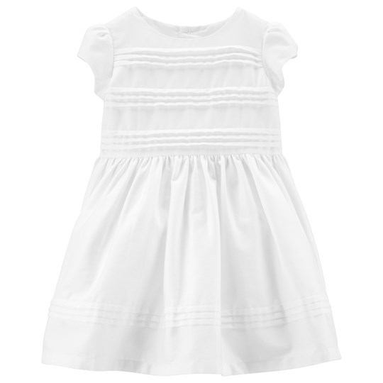 Carter's Bow Pleated Dress White WHITE (100)