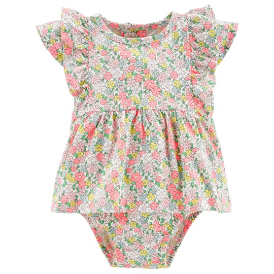 Carter's Floral Dress Baby Body Pink PRINT (969)