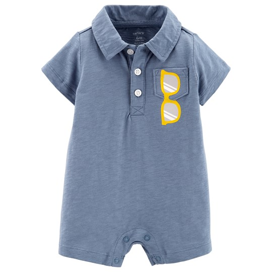 Carter's Sunglasses Romper Blue BLUE (420)