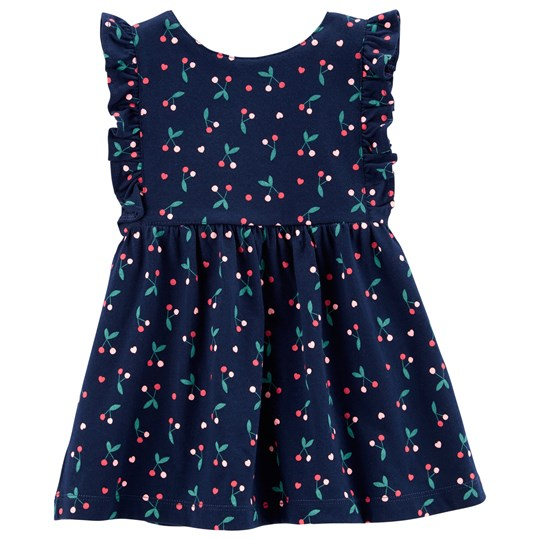 Carter's Cherry Jersey Dress Navy NAVY (400)