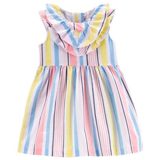 Carter's Striped Poplin Dress Pink/Blue STRIPE (984)