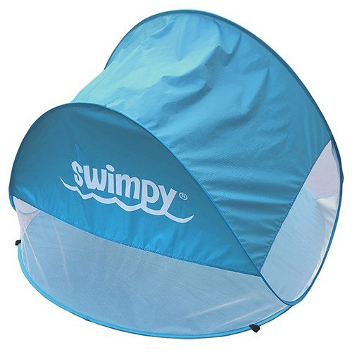 UV Tält med Ventilation Blå Swimpy Babyshop