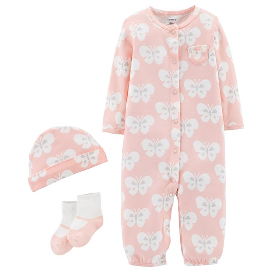 Carter's Butterfly 2-in-1 Layette Set Pink PINK (650)