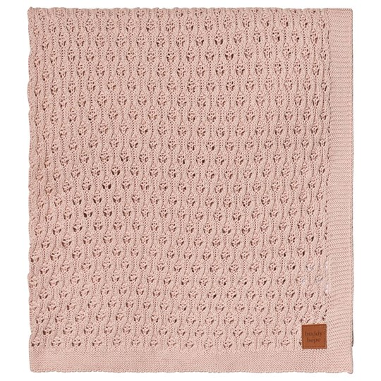 Buddy & Hope Knitted blanket Pink