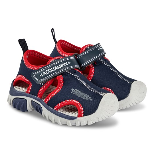 Primigi Navy and Red Closed Toe Water Sandals Navy/Rosso