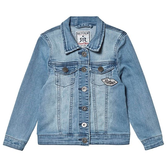 Retour Tanika Jacket Light Blue Denim Light Blue Denim