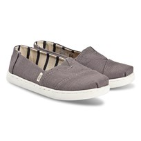 f11840f9 Toms Grey Alpargata Slip On Trainers Black. Kjøp nå