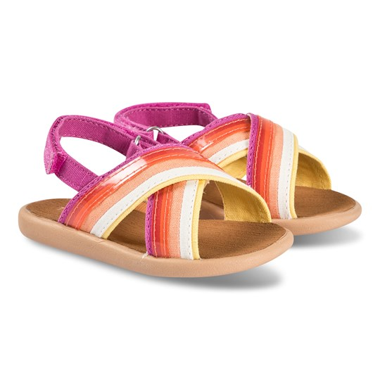 Toms Strappy Tiny TOMS Sandaler Pink Orange
