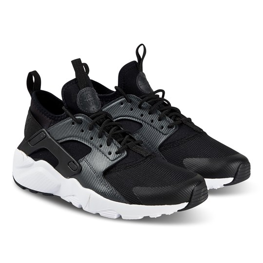 NIKE Black Nike Air Huarache Run Ultra Trainers 001