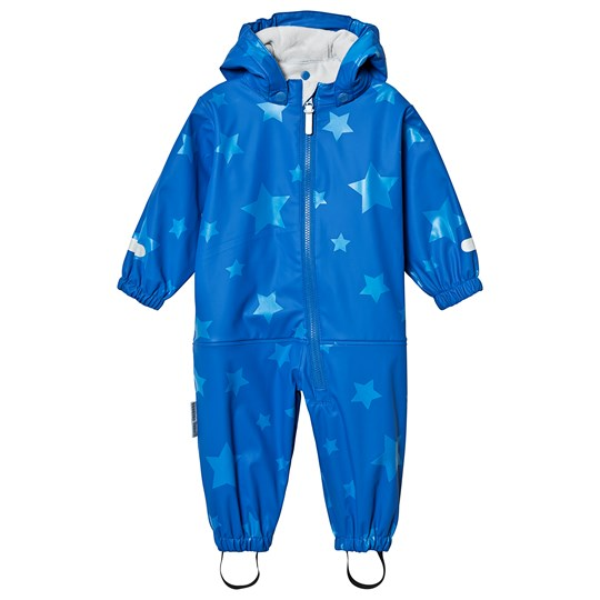 Ticket to heaven Kody PU Rain Suit With Fleece Allover Princess Blue Princess Blue