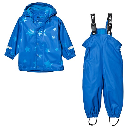 Ticket to heaven PU Rain Set With Fleece Allover Princess Blue Princess Blue