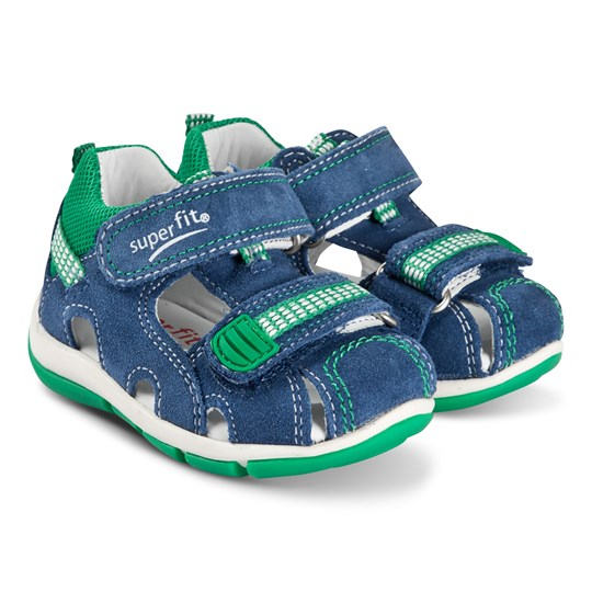 Superfit Freddy Shoes Blue/Green Blue/Green